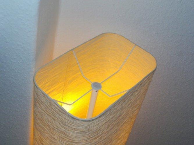 test ikea stehlampe magnarp 154 cm lampenschirm aus reispapier. Black Bedroom Furniture Sets. Home Design Ideas