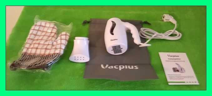 Test: Vacplus Dampfglätter, handschuhwärmer,Mini Reisebügeleisen für Alltag & Reise,schnell erwämender Bügeleisen, Dampfbügeleisen, tragbarer Kleidungsdämpfer mit 180 ml Wassertank, mit Reisebeutel und Handschuh