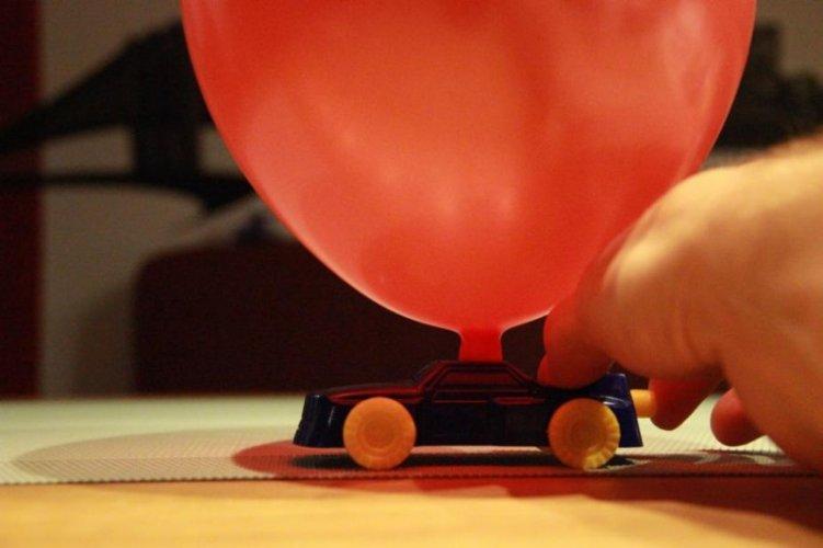 Test German Trendseller 3 x Ballon Flitzer l Auto Ballon