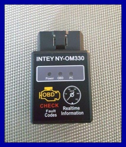 Test: INTEY Bluetooth OBD2 Auto-Fahrzeug-Fehlercode-Lesegerät Auto Diagnose-Scan-Tool, lesen und löschen Fehlercodes (für Android und PC, nicht für iOS) mit 16-Pin-Verlängerungskabel