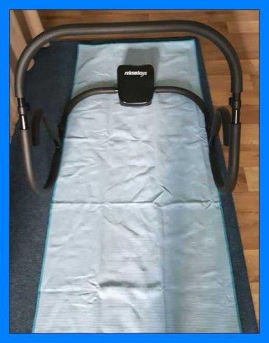 Test: Yogateppich Yogamattedecke Yogahandtuch Schweißaufnehmen Rutschfest Waschbar geschmeidig verkapseln den Ecken der Yogamatte 190 x 64 cm Standardgröße eine Seite hat Silikon-Beschichtung mit Tasche