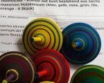 Test: Kreisel Set bunt von Nesthocker