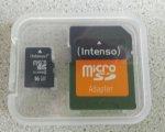Intenso Micro SDHC 16GB Class 4