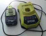 Test: Ryobi RBC18L15 Akku 18 V/1.5 Ah Lithium+ und Ladegerät 60 min