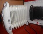"""Test: Klarstein """"Labrador 9"""" kleiner Wohnzimmer Heizkörper Radiator Heizung mini (elektrisch mit Strom, Umkippsicherung, 1000 Watt, 9 Heizsegmente)"""