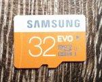 Samsung Speicherkarte SDHC 32GB GB EVO UHS-I Grade 1 Class 10