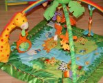 Krabbeldecke Test: Mattel K4562 - Fisher-Price Rainforest Erlebnisdecke