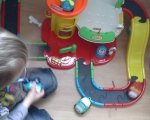 Test: XL Spielzeug Parkhaus für Kinder  von Brigamo