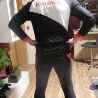 Test: TOMSHOO Radtrikot Herren Set Schnell Trocken Langarm-Radfahren Jersey mit Hose für Mountain Biking und Outdoor