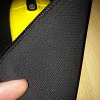 Test:iVoler Gaming Mauspad M (250mmx220mmx3mm) Wasserdicht Maus Pad mit vernähter Ränder, Rutschfeste Gummi Unterseite, Oberfläche glatt Mousepad für Computer, PC und Laptop - Schwarz
