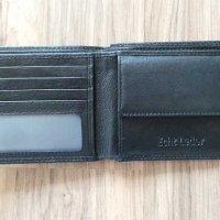 Test: Schlanke Echtleder-Geldbörsen besonders bequem einfach und extra stabil #Easycomfort (Schwarz)