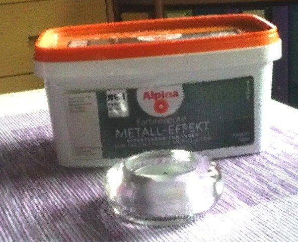 test alpina tim m lzer farbrezepte metall accent silber 1 l effekt farbe wandfarbe. Black Bedroom Furniture Sets. Home Design Ideas