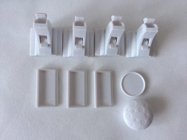 LilSun - magnetische unsichtbare Kindersicherung, Magnetschlösser ...