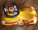 Test: BIG 56184 - Bobby-Car Racing No2, gelb