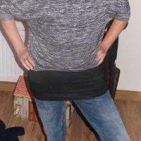 Test: KoJooin Damen Lose Asymmetrisch Jumper Sweatshirt Langarmshirt Pullover Oversized Oberteile mit Top